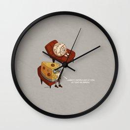 Quesillo Wall Clock