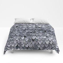 MAGIC MERMAID CLASSIC GREY by Monika Strigel Comforters