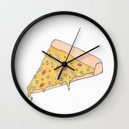Pam Pizza Wall Clock