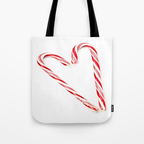 Candy Cane Love Tote Bag