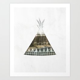 Tipi Number 1 Art Print
