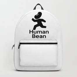 Human Bean (Human Being) Funny Backpack