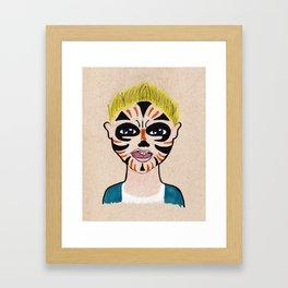 Evan Framed Art Print