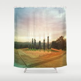 Intervention 22 Shower Curtain