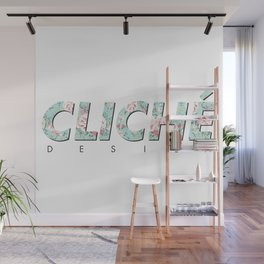 Cliché Wall Mural
