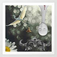 Thermo-Musings I - Arctic Fever Dream Art Print