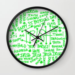 IT'S AN IRISH THING! Wall Clock