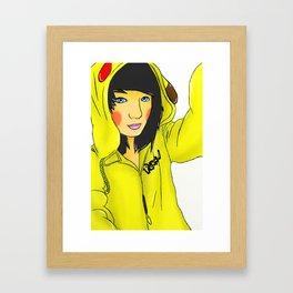 I Chose You Framed Art Print