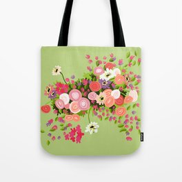 Flowerpower Tote Bag