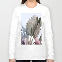 palm Long Sleeve T-shirts featuring palm by Renee-David