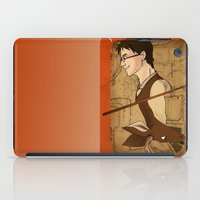 potter iPad Cases featuring James Potter by Imaginative Ink