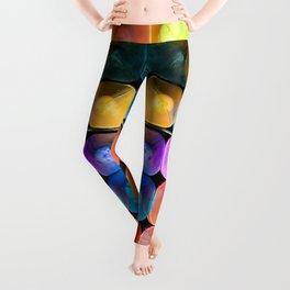 Chalk Art Leggings