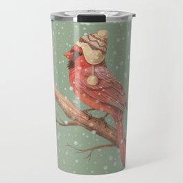 First Snow  Travel Mug