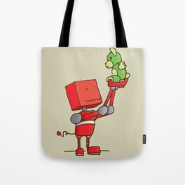 A New Friend Tote Bag
