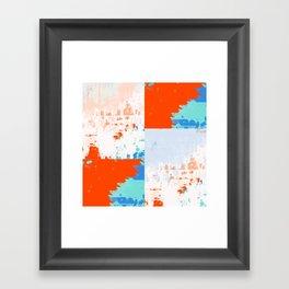 ABSTRACT PRINT 85 Framed Art Print