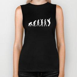 Trumpet Evolution Horn Marching Band T-Shirt Biker Tank