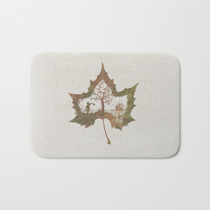 A Fall Story Bath Mat