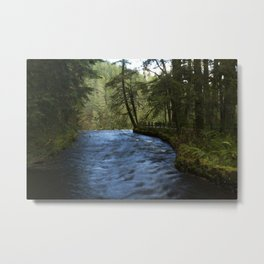 Desktop Wallpapers USA Silver Falls State Park Nat Metal Print