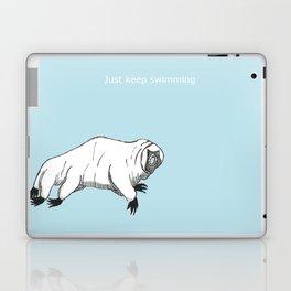 The majestic water bear Laptop & iPad Skin