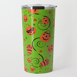 Halloween Magic- Green Travel Mug