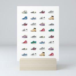 Kicks Mini Art Print