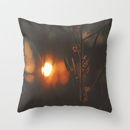 Twilight Wattle Throw Pillow