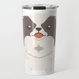 Japanese Chin Dog Gift Idea Travel Mug