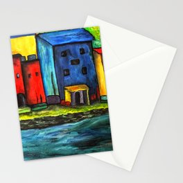 Au Bord de la Mer Stationery Cards