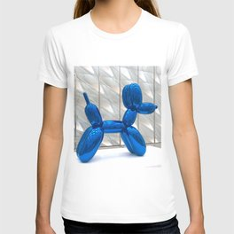 Big Blue Balloon Dog T-shirt