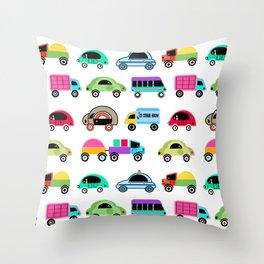 Children's cars 1 Throw Pillow