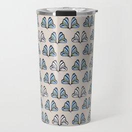 Madam Butterfly Print Travel Mug