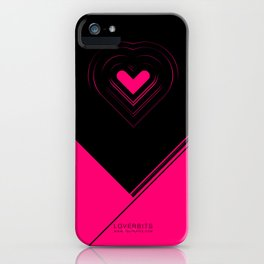 CRYPTIC HIPSTER HEART. iPhone Case