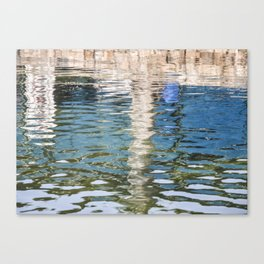 Reflecting Blues Canvas Print