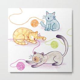 Whiskers on Kittens Metal Print