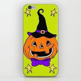 Vintage Halloween Jack O Lantern iPhone Skin