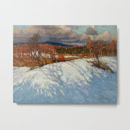 Tom Thomson In Algonquin Park Metal Print