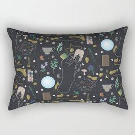 Tea Witch Starter Kit - Illustration Rectangular Pillow