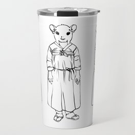 Character design for Eun Ae Travel Mug