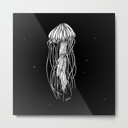 Life of a Jellyfish Metal Print