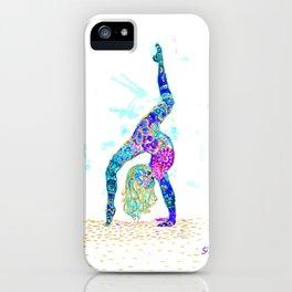 :) iPhone Case