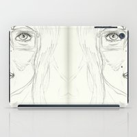 glasses iPad Cases featuring Glasses by writingoverashes