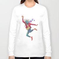 birdman Long Sleeve T-shirts featuring BIRDMAN by GENO
