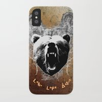 medicine iPhone & iPod Cases featuring Bear Medicine by Cree Thunder