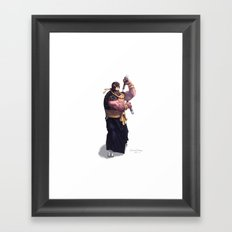 Michelangelo Framed Art Print