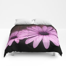 DEW DROPS ON DAISIES Comforters