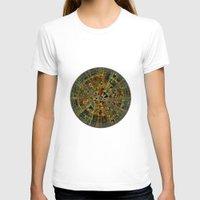 calendar T-shirts featuring Ancient Calendar by Klara Acel