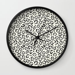 Tribal Cat 1 Wall Clock