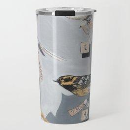 Warbler Exhibit Museum Birds Travel Mug