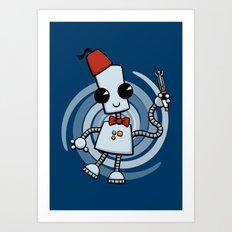 Ned the Time Traveller (11) Art Print