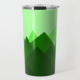 Abstract Forest Travel Mug